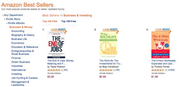 Amazon Best Sellers in Business & Investing